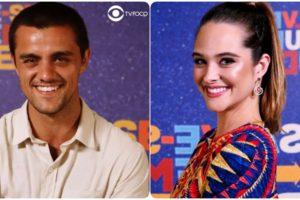 Téo (Felipe Simas) e Luna (Juliana Paiva) em Salve-Se Quem Puder