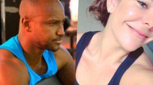 Fernanda Souza e Thiaguinho surgiram em fotos semelhantes (Foto reprodução)