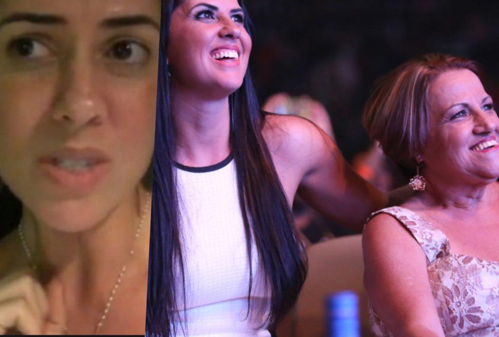 Graciele Lacerda foi questionada por seguidora sobre paradeiro da mãe dela (Foto reprodução)