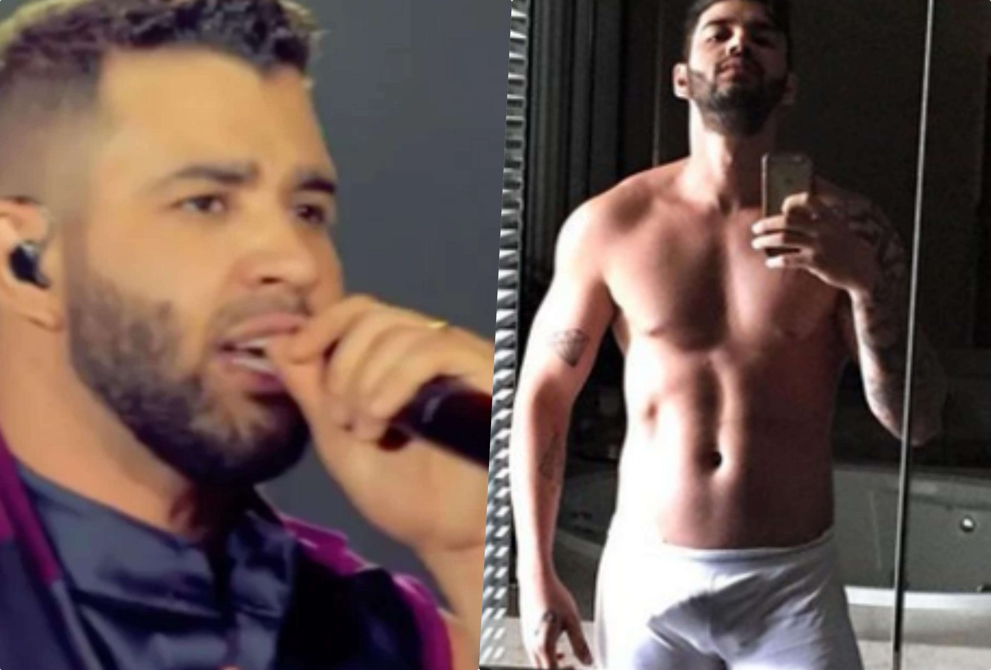 Gusttavo Lima e Andressa Suita tiveram detalhes de sexo expostos pelo cantor (Foto reprodução)