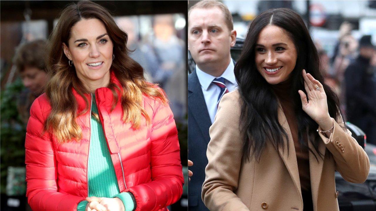 Diferença entre o tratamento de Meghan Markle e Kate Middleton (Foto: Reprodução)