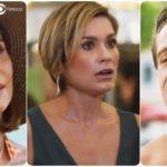 Alexia, Helena e Renzo em novela Salve-se Quem Puder