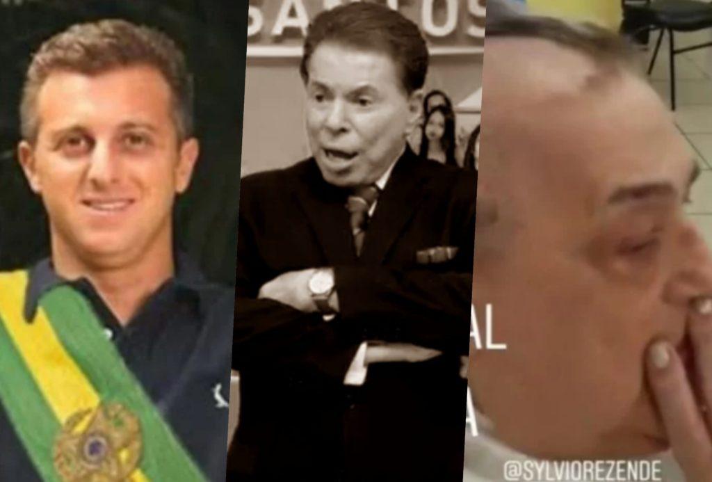 Silvio Santos, Luciano Huck e Mamma Bruschetta são destaques nas últimas notícias dos famosos (Foto montagem: TV Foco)