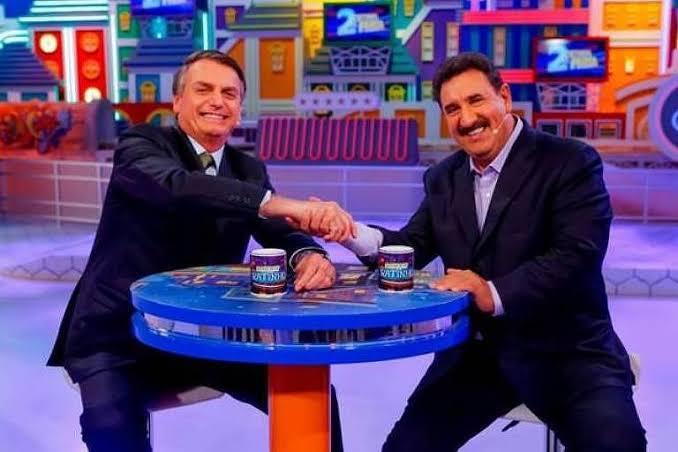 Ratinho ganhou dinheiro para fazer propaganda de Jair Bolsonaro (foto: divulgação/SBT)