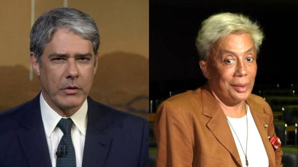 William Bonner e Clodovil (Foto: Reprodução/TV Globo/Montagem TV Foco)