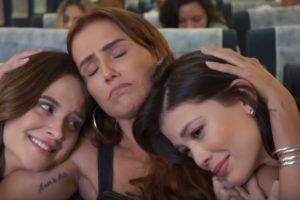Juliana Paiva, Deborah Secco e Vitória Strada são as protagonistas de Salve-se Quem Puder