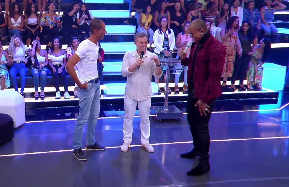 Leo Santana esteve no Caldeirão - Foto: Reprodução