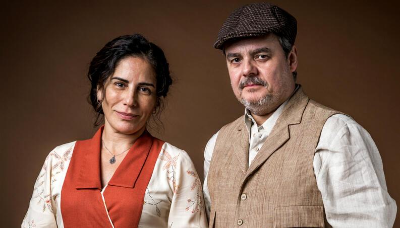 Lola e Afonso sofrerão obstáculo em Éramos Seis (Imagem: Divulgação)