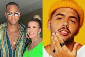 Lore Improta, Leo Santana e Pedro Sampaio. Foto: Reprodução