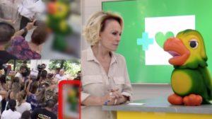 Careca de Louro José chama atenção durante Mais Você. Foto: Reprodução