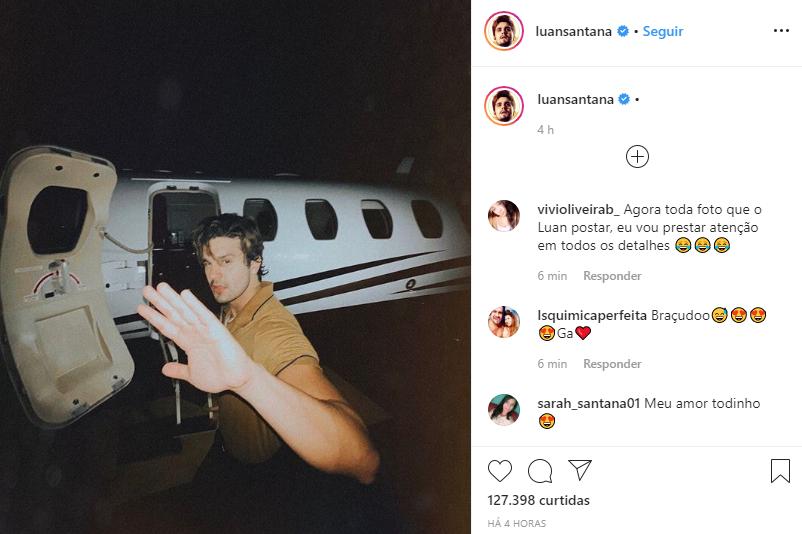 Luan Santana tem suas fotos comparadas com as de Shawn Mendes (Foto: Reprodução/ Instagram)