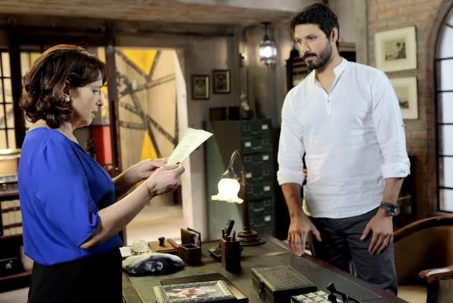 Marcelo tem uma conversa séria com a diretora de As Aventuras de Poliana