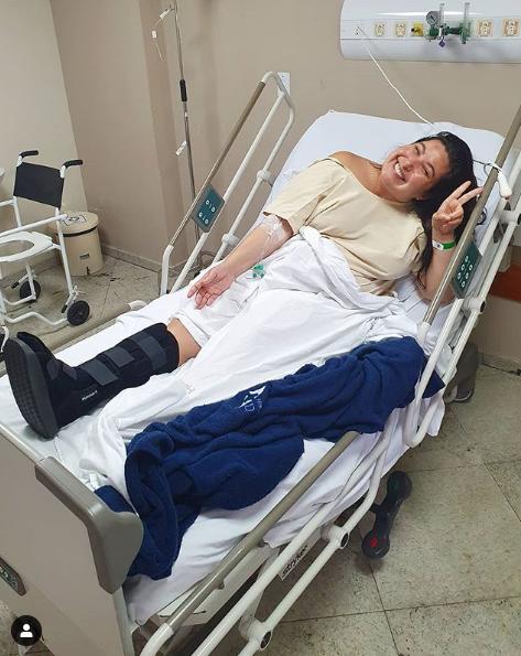 Mariana sofreu acidente feio (Foto: Reprodução/ Instagram)