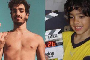 O ator Matheus Costa que fez diversas novelas na Globo, acerta com a Record (Montagem: TV Foco)
