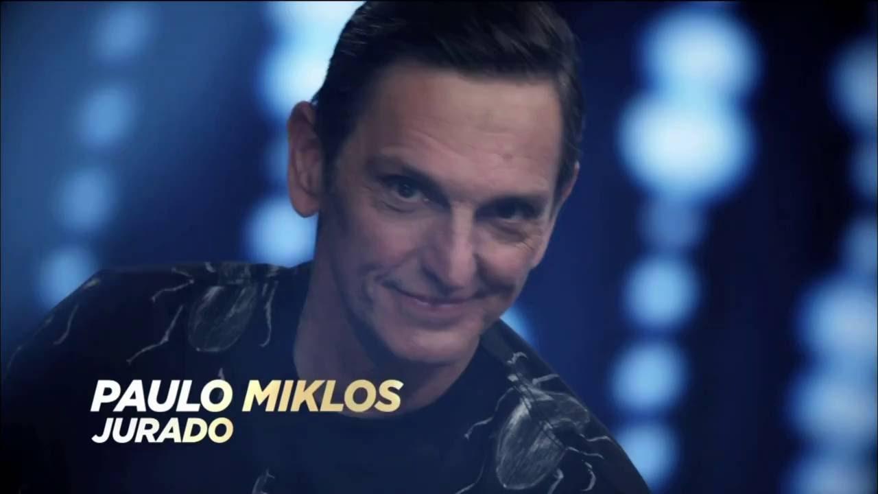Paulo Miklos, novo jurado do The Four (Foto: Reprodução)