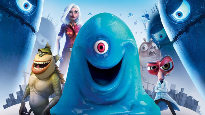 Globo vai exibir o filme Monstros vs Alienígenas na Sessão da Tarde de hoje (Foto: Reprodução)