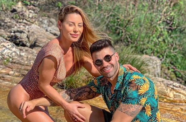 Arícia e Netto terminam namoro (Foto: Reprodução/Instagram)