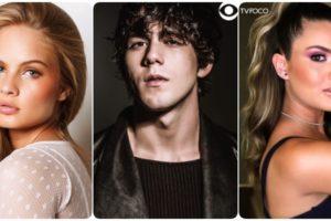 Valentina Bulc, Daniel Rangel e Livia Inhudes formam parte da nova novela da Globo Salve-se Quem Puder