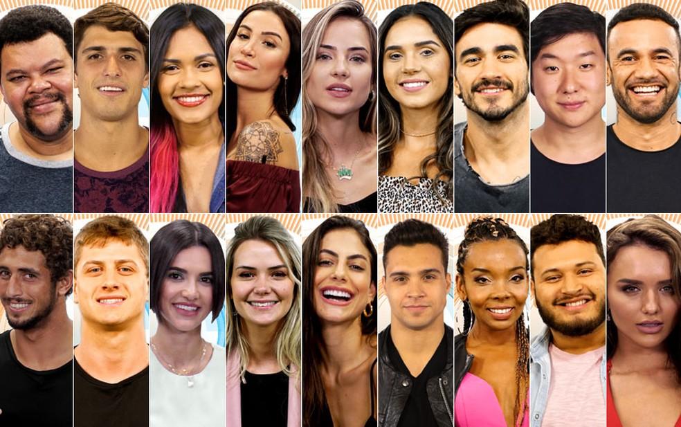Participantes do BBB20 (Foto: Montagem)
