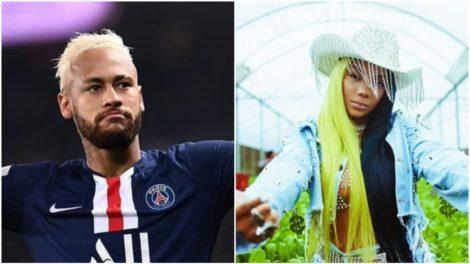 Neymar se rende ao hit Verdinha e dança música de Ludmilla durante jogo (Foto: Reprodução)