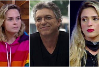 Boninho falou mal de Nadja Pessoa e Ana Paula Renault (Foto: Reprodução)