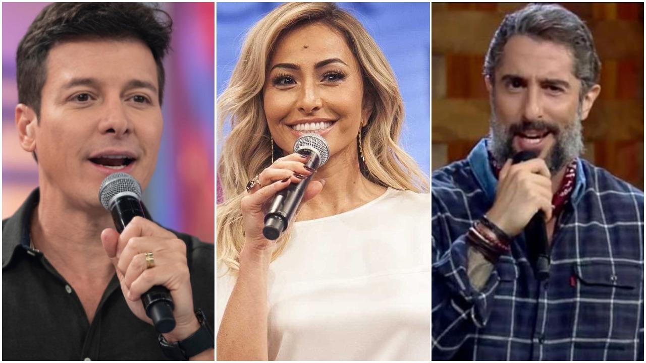 Rodrigo Faro, Sabrina Sato e Marcos Mion quem leva a melhor nessa disputa e deve apresentar o Canta Comigo?