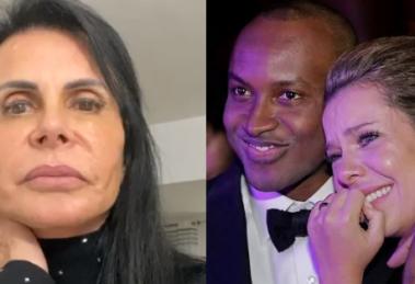 Fãs apontam semelhança na nota de Gretchen com Thiaguinho e Fernanda Souza. Foto: Reprodução