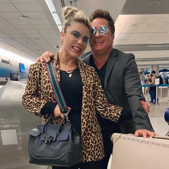 Poliana Rocha surge em clique raro com Leonardo e encanta web (Foto: Divulgação/Instagram)