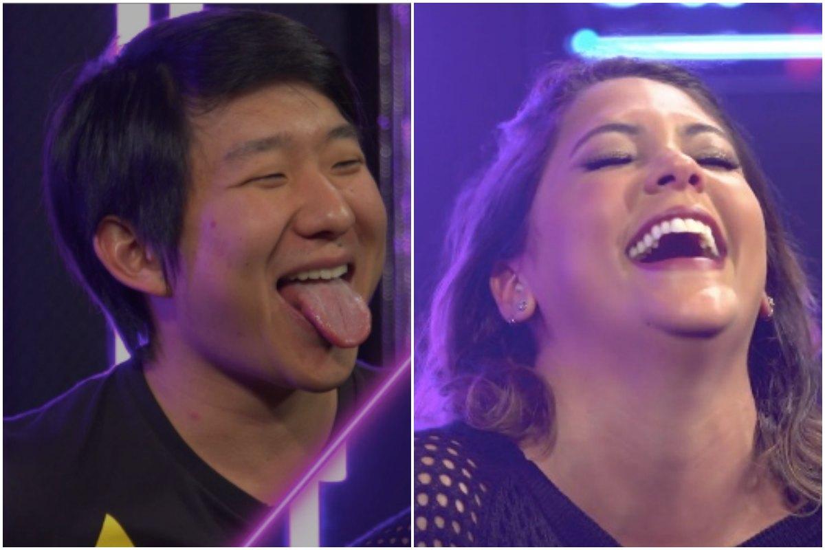 Pyong Lee faz apresentadora ter orgasmo durante programa. Foto: Reprodução