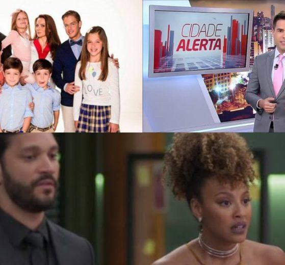 Meu Coração é Teu, Cidade Alerta e Bom Sucesso (Foto: Divulgação/SBT/Record/TV Globo/Montagem TV Foco)