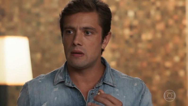 Rafael Cardoso interpreta Renzo em Salve-se Quem Puder (Foto: Reprodução/Globo)