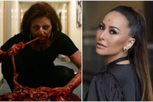 Sabrina Sato interpretará Davina McCall, apresentadora do Big Brother inglês, que virou zumbi e comeu gente em Dead Set. Foto: Reprodução