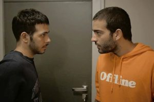 Sandro e Vinicius na novela Amor de Mãe