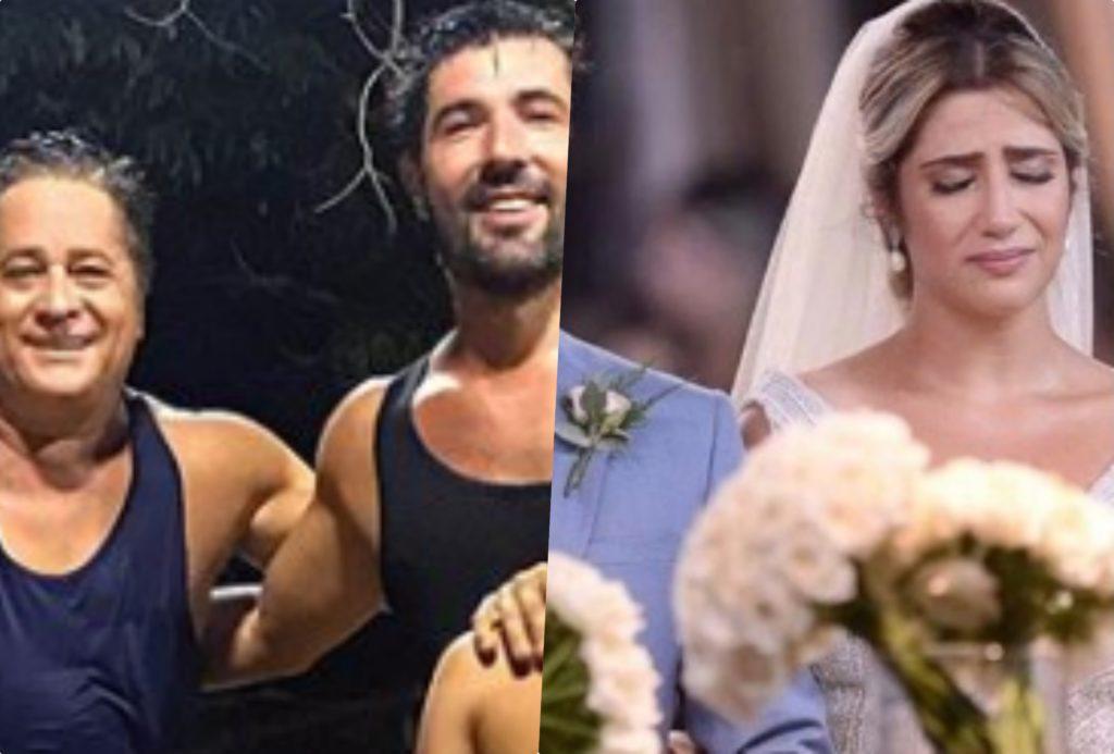 Sandro Pedroso e Leonardo surgiram juntos para felicidade de Jessica Costa
