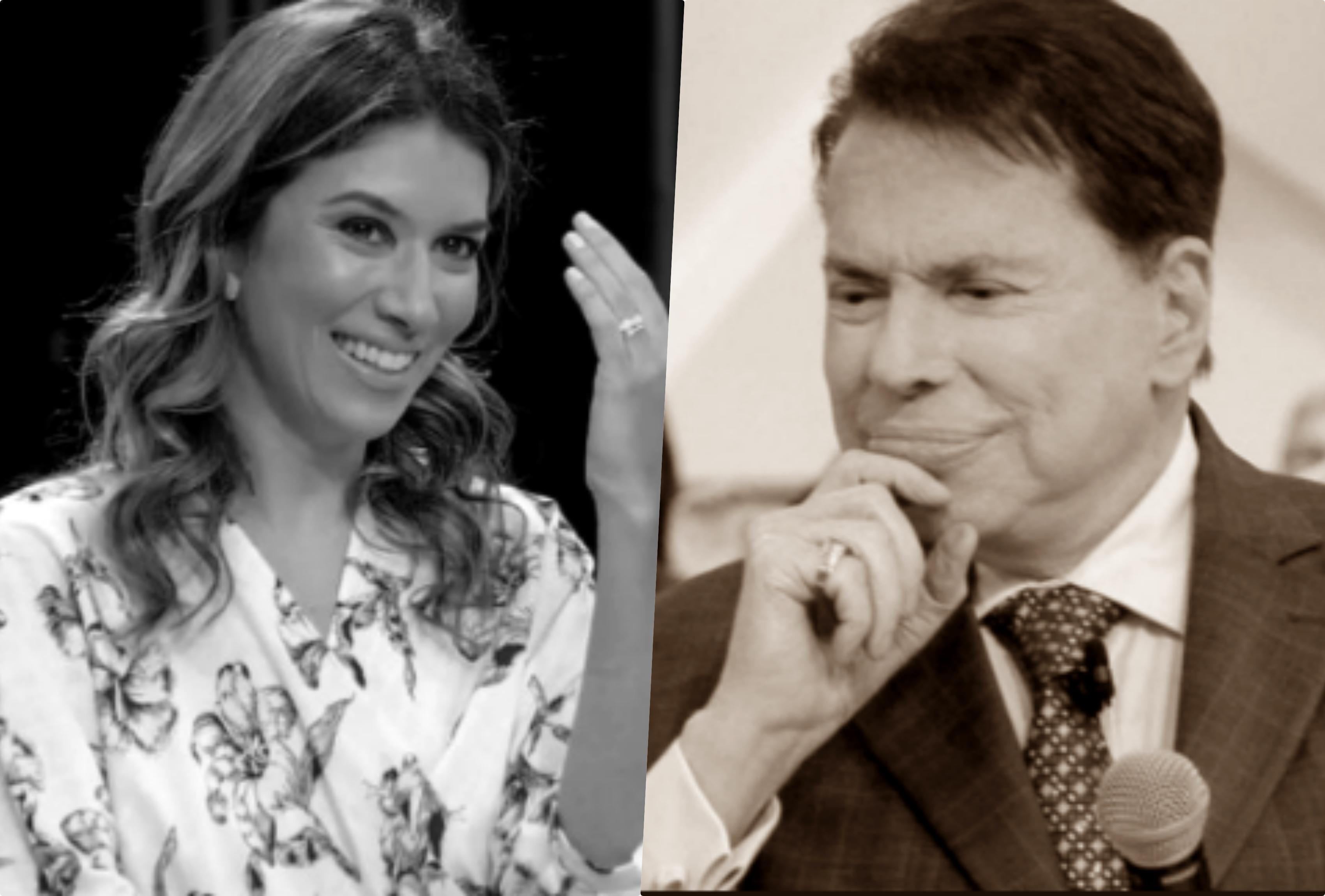 Rebeca Abravanel e Silvio Santos são destaques no SBT e receberam previsões para esse ano de 2020 (Foto montagem: TV Foco)
