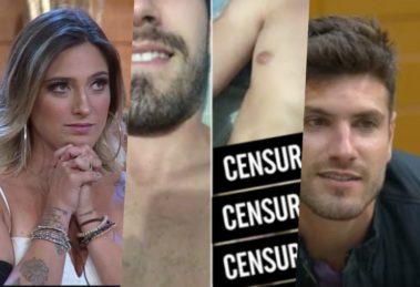Tati Dias falou sobre nude de Guilherme Leão, com quem ela fez sexo dentro da Fazenda da Record (Foto reprodução)