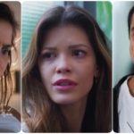Téo, Kyra e Alexia são personagens da nova novela Salve-se Quem Puder