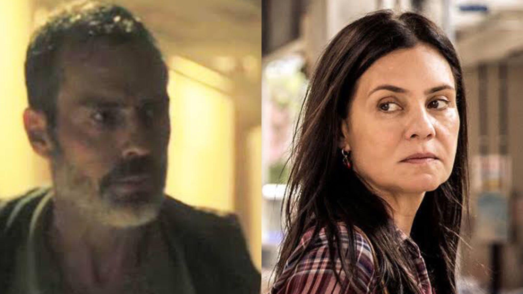 Após uma noite de amor intensa com Gabo, Thelma tomará decisão radical. (montagem TV Foco)