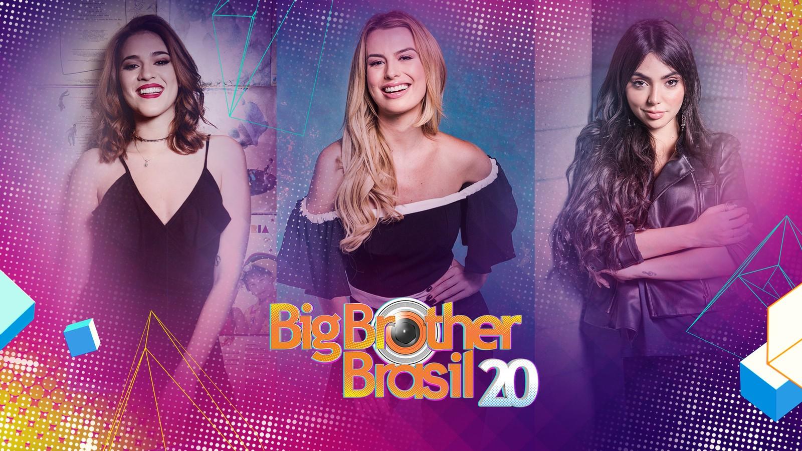 Ana Clara Lima, Fernanda Keulla e Nyvi Estephan comandam a #RedeBBB — (Foto: Globo)