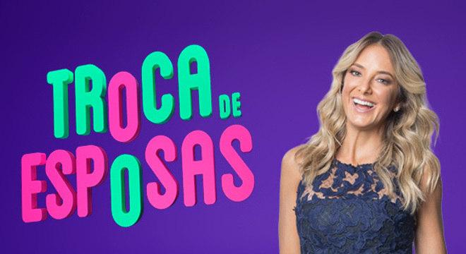 Ticiane Pinheiro na apresentação do Troca de Esposas na Record TV (Foto: Divulgação)