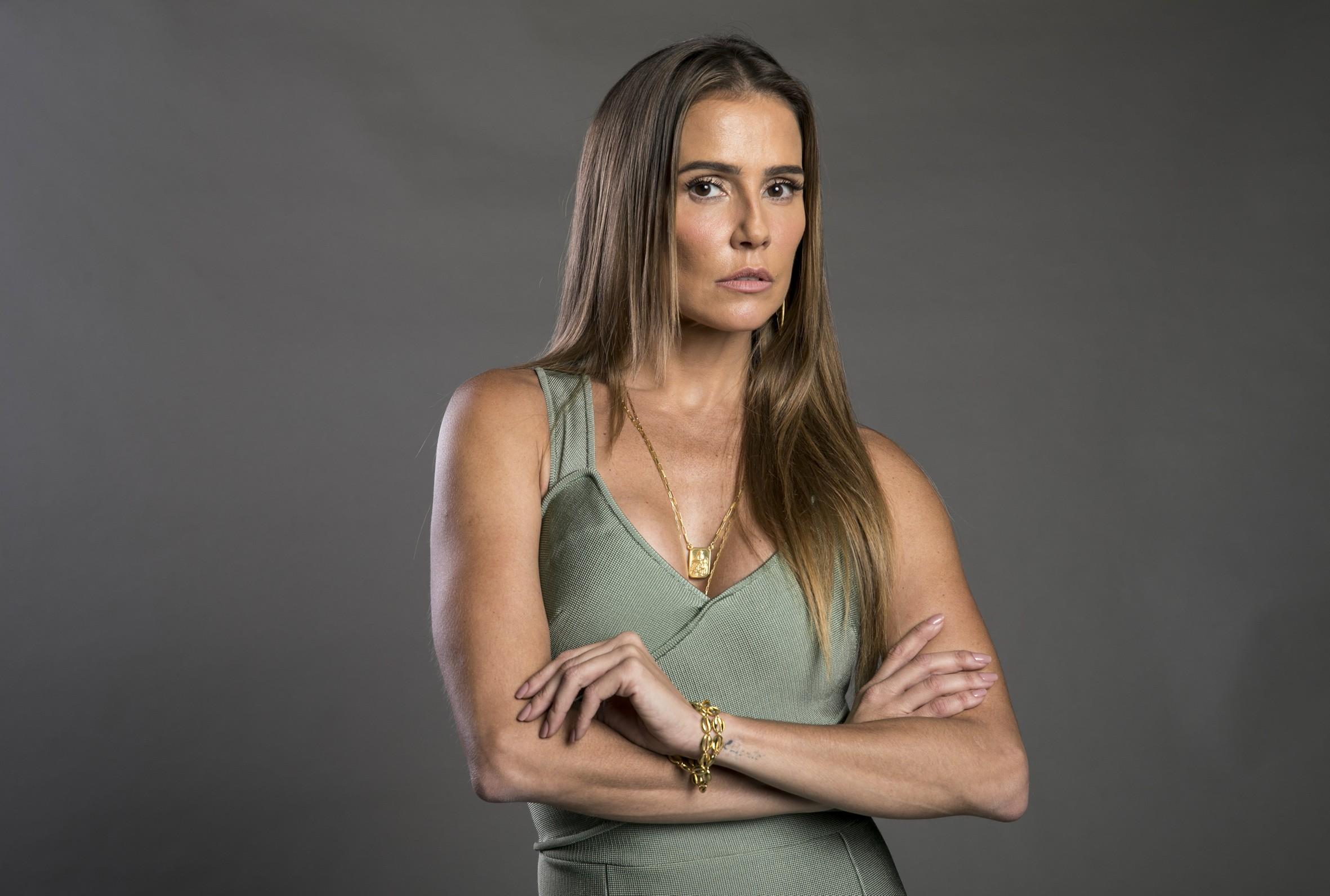 Deborah Secco em Segundo Sol, interpretando Karola (foto: divulgação/TV Globo)
