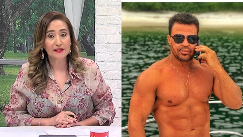 Sonia Abrão deu bronca em Eduardo Costa em seu programa (Foto: Reprodução/RedeTV!/Instagram/Montagem TV Foco)