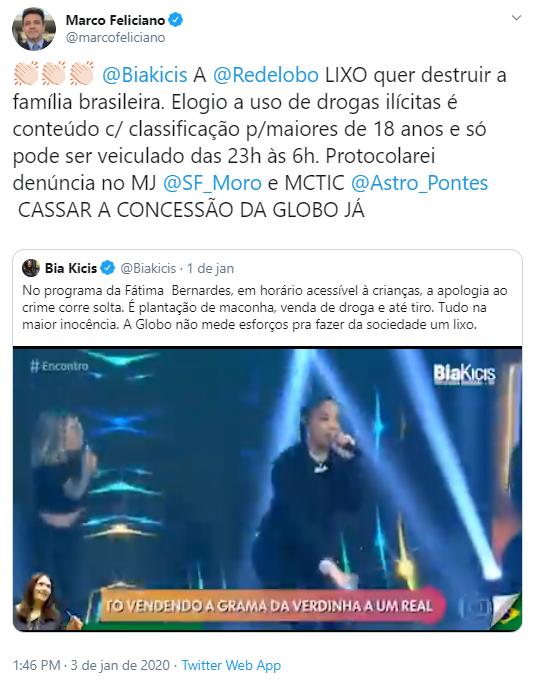 Ludmilla provoca grande consequência para Fátima Bernardes (Foto: Reprodução)