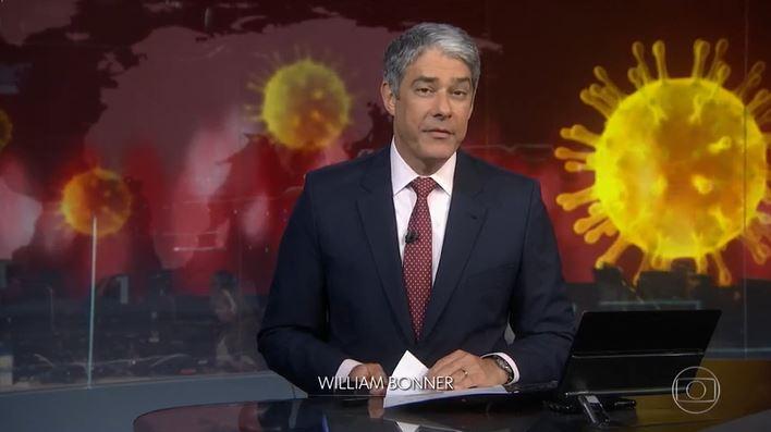 William Bonner tem jeito muito peculiar fora do Jornal Nacional (Foto: Reprodução/Globoplay) Globo