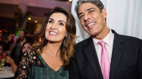 William Bonner e Fátima Bernardes formaram um dos casais mais conhecidos do país (foto: divulgação)