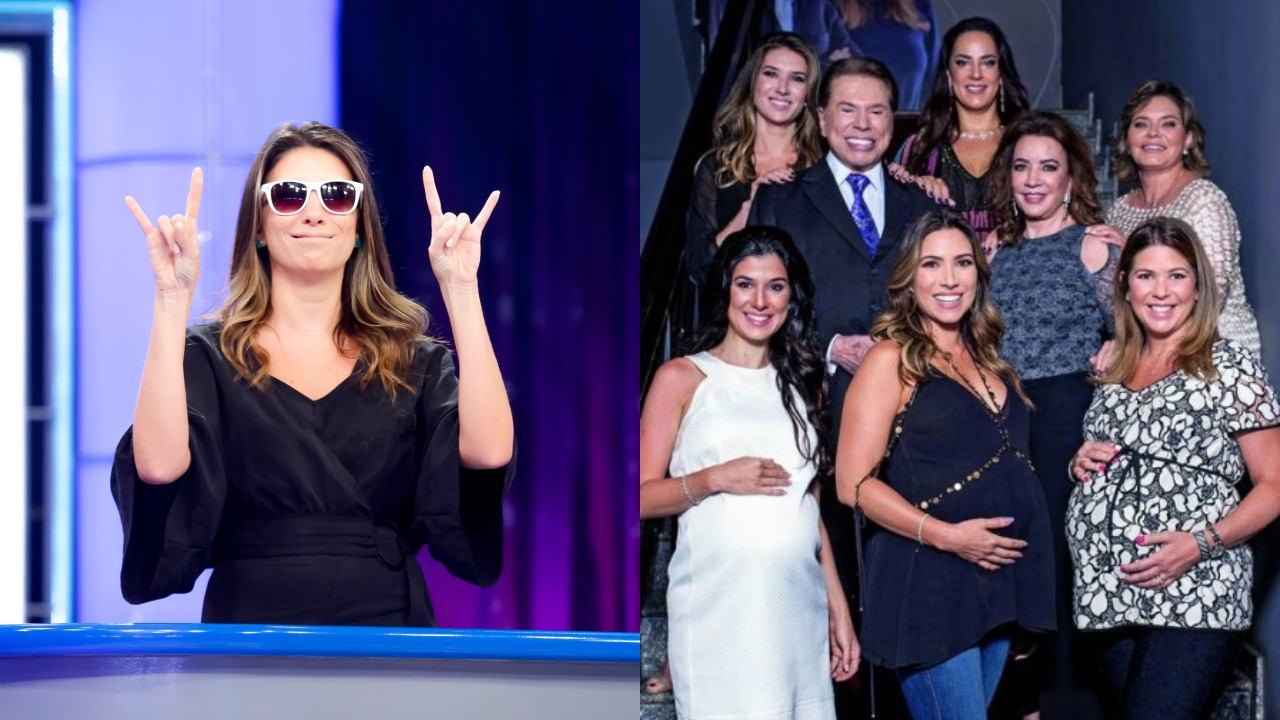 Rebeca Abravanel se destaca na família de Silvio Santos (Foto: Reprodução/SBT/Montagem TV Foco)