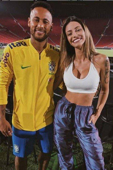 Duda Castro, ex de Biel, se encontrou com Neymar após affair virtual (Foto: Reprodução/ Instagram)