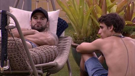 Hadson e Felipe (Foto: Reprodução) BBB20 Lucas Gallina