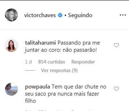 O famoso cantor e ex-jurado do The Voice Kids, da Globo, Victor Chaves é alvo de ataques (Foto: Reprodução/Instagram)