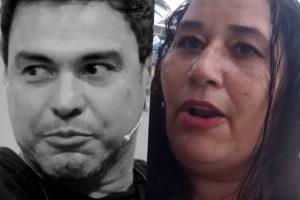 Cleo Loyola, ex de Luciano, resolveu expor Zezé (Foto reprodução)